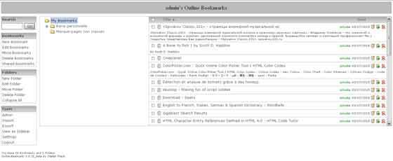 Online-bookmarks